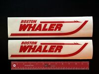 2 (two) Boston Whaler Boats Marine Decals 12 -