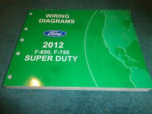 2012 FORD F-650 F-750 SUPER DUTY TRUCK WIRING DIAGRAM SHOP ...