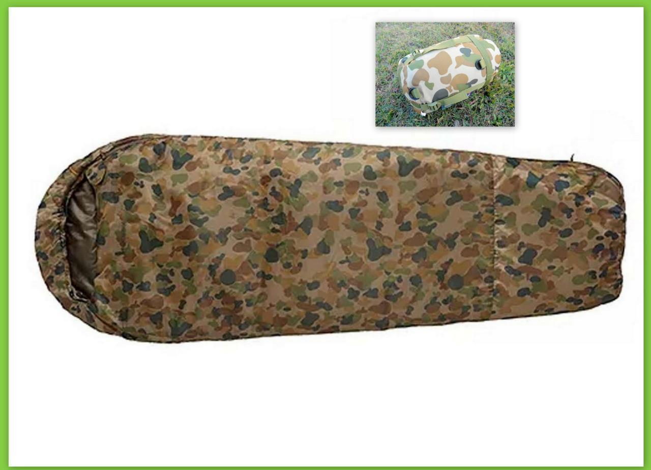CARIBEE DEPLOY 1300 (0C) LIGHTWEIGHT CAMO AUSCAM DPCU ARMY CAMPING SLEEPING BAG