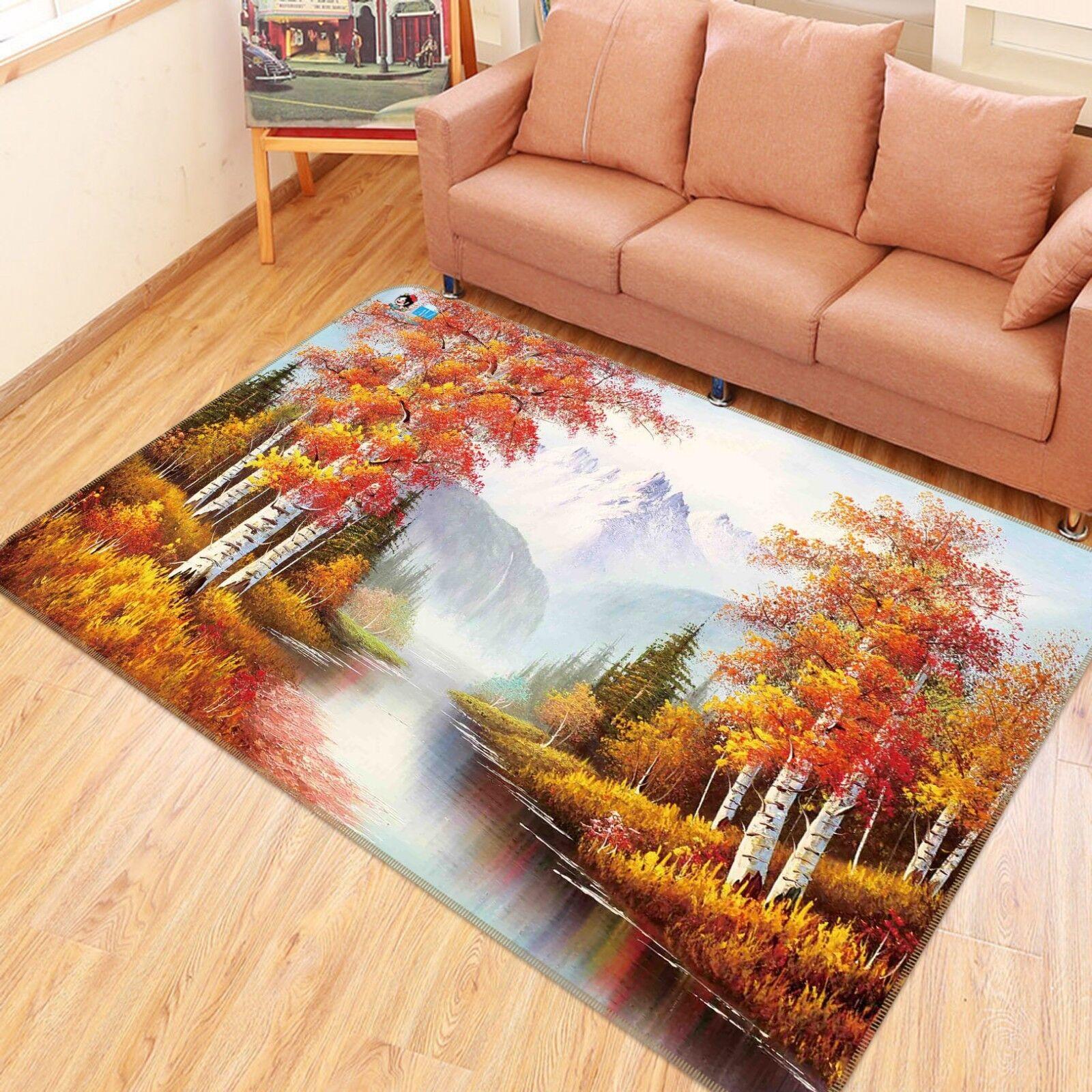 3D Forest Étage Peinture 310 Étage Forest Antidérapant Natte Élégant Tapis FR Tiffany 081eae