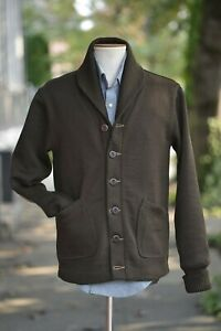 Dehen-x-Ship-John-Bonham-Sweater-Brown-Wool-X-Large-XL-NWT-Sold-Out