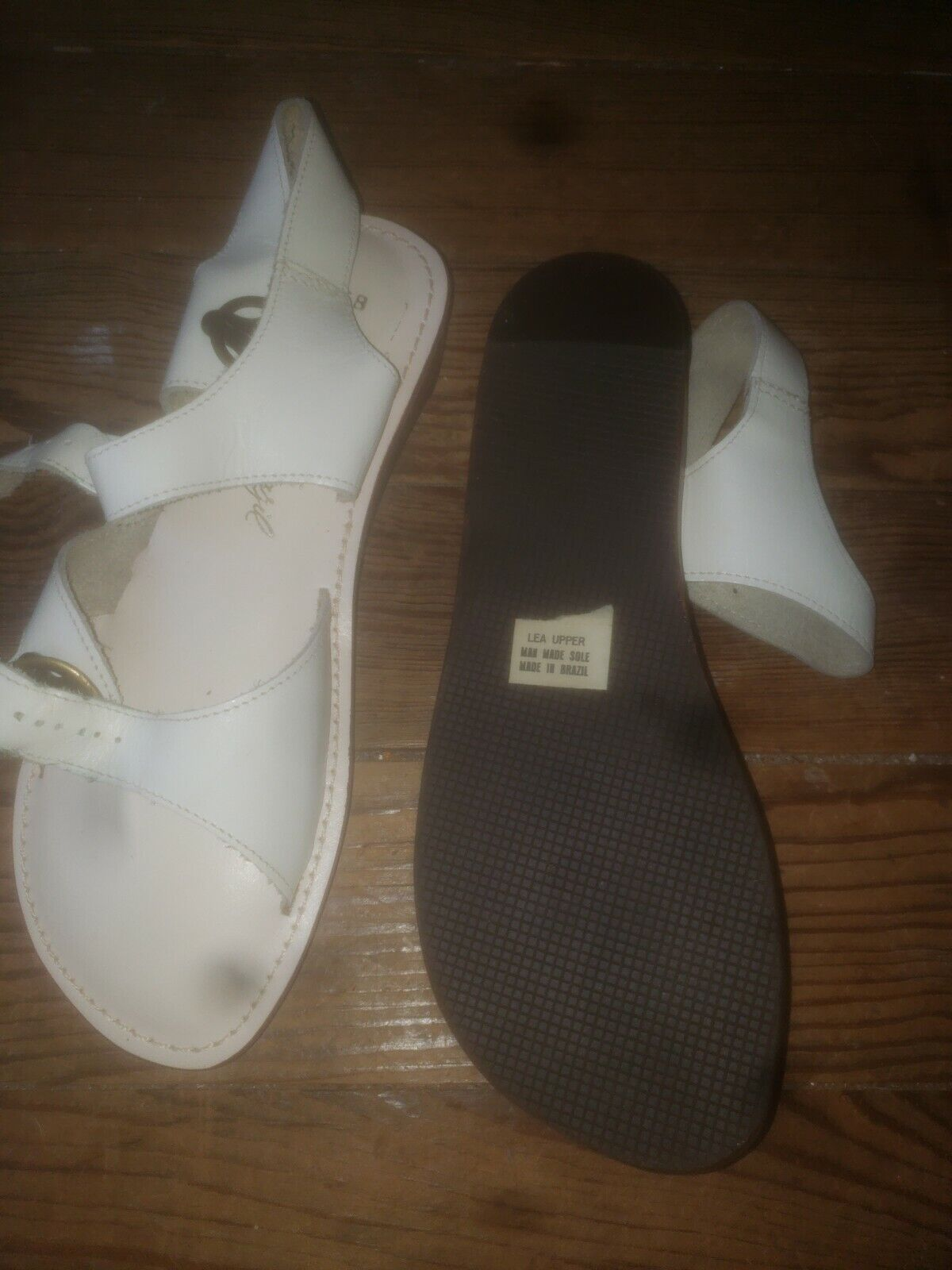 NOS Never Worn Sandals Womens 6.5  40s 50s 60s 70… - image 2