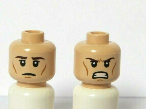 LEGO 1 chair figurine réversible Head Boy Man Star wars NABOO SOLDIER