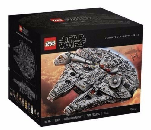 LEGO Star Wars Millennium Falcon 75192 Ultimate Collector's In In In Hand 622346