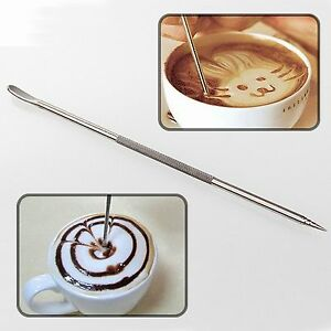 New-Stainless-Steel-High-Quality-Barista-Cafe-Coffee-Latte-Art-Pen-Paint-Spoon