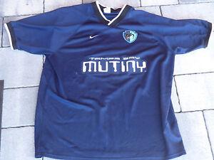 Vintage-NIKE-Tampa-Bay-Mutiny-MLS-Soccer-T-Shirt-SIZE-XL-Jersey-Men-039-s-FLORIDA