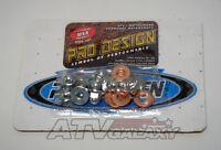 Pro Design Cool Head Rebuild Kit Acorn Nut Kit Yamaha Banshee 350 All Years