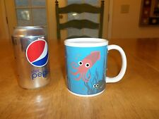 Octopus-Under the Sea Morph/Thermo Ceramic Coffee Cup,Hidden Sea Image Till HOT