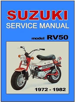 suzuki rv 50 wiring diagram suzuki workshop manual rv50 1972 1973 1974 1975 1976 1977 1978  suzuki workshop manual rv50 1972 1973