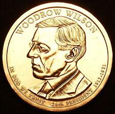 2013-D   PRESIDENT WOODROW WILSON  DOLLARS ~ U.S MINT ~ 25 COIN ROLL