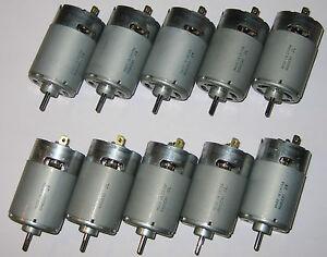 10 x mabuchi rs 555 ph motors 12v 4500 rpm high for Best dc motor for wind turbine