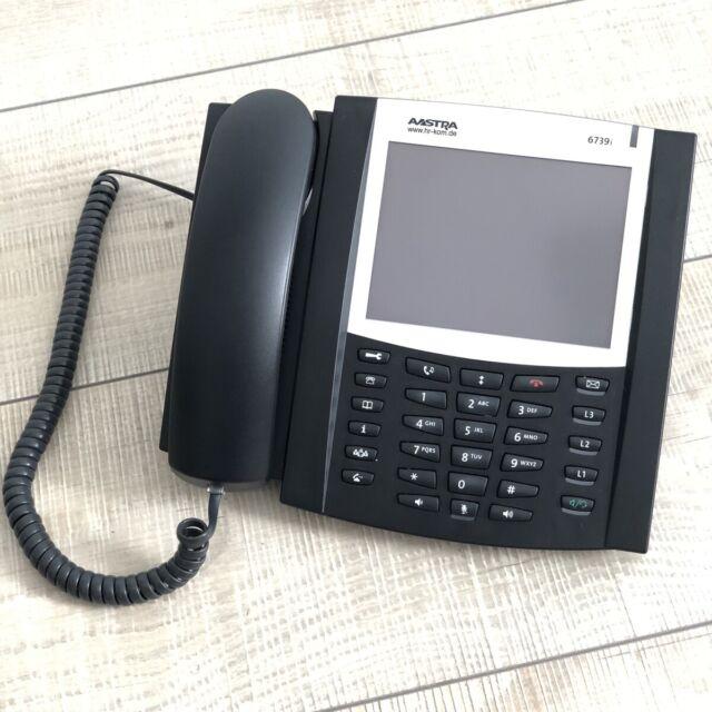 Aastra Mitel VoIP SIP teléfono 6739i Bluetooth, dhsg va también a: starface