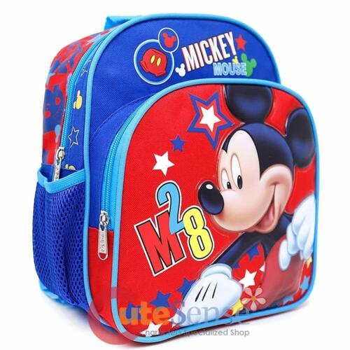 "Disney Mickey Mouse M28 Mini Book Bag Kids Preschool 10/"" Toddler Backpack-A07644"