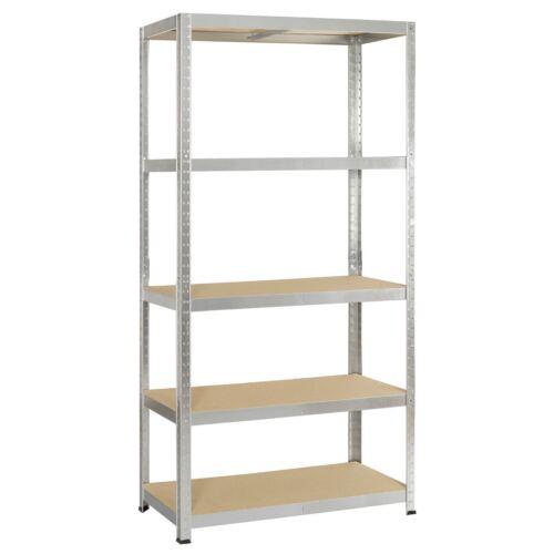 Blackspur New Garage Shelving Unit 5 Tier 1.5 1.8  Racking Shelf Storage