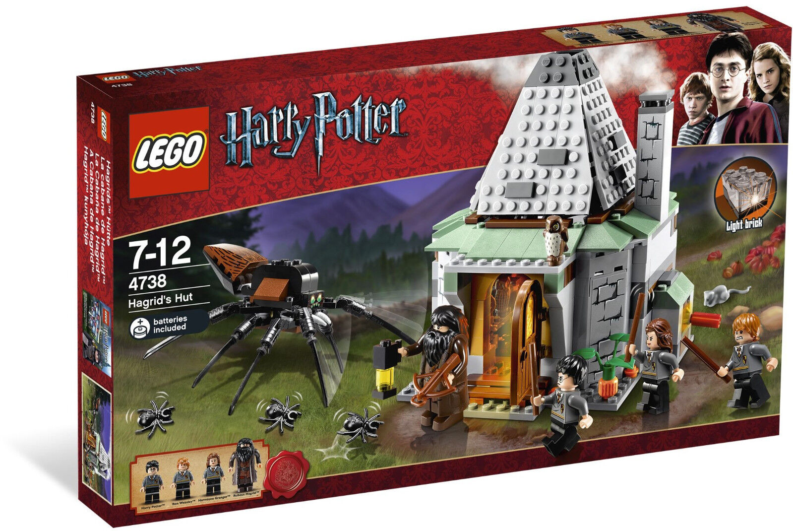 Lego 4738 Harry Potter Hagrid's Hut  Sealed Box