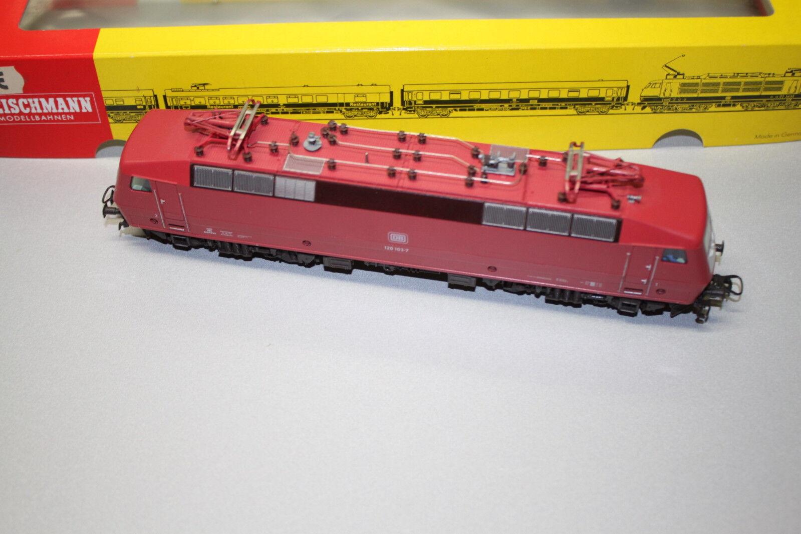 Fleischmann 4351 Elok Baureihe 120 103 -7 DB Spur H0 OVP