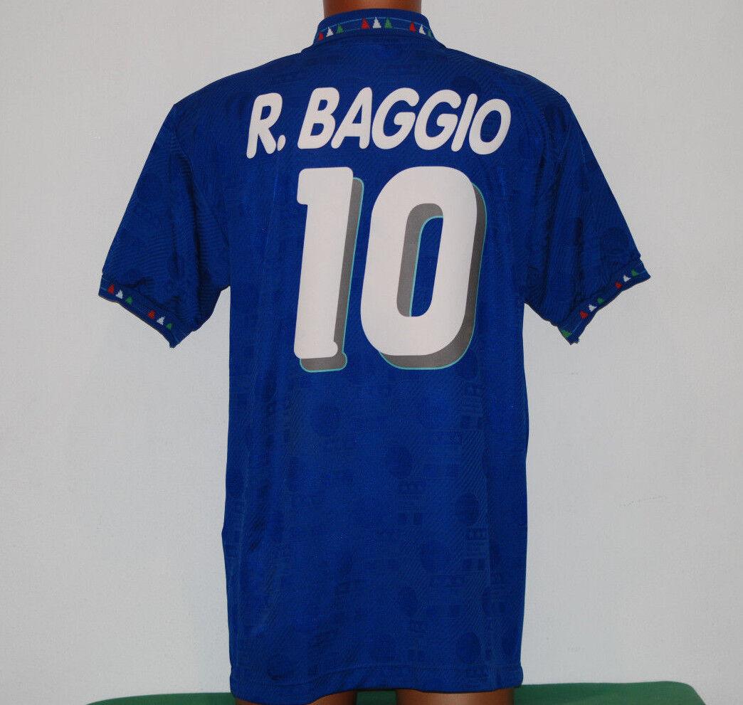 Maglia roberto baggio diadora ITALIA 1990 USA 94 world cup NO THAI Large