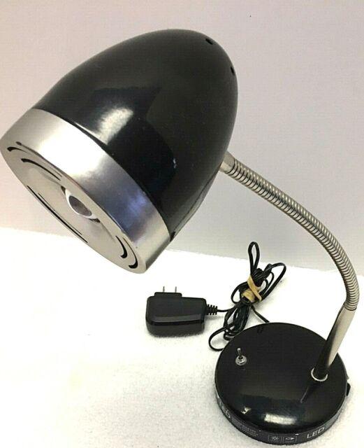 Intertek Flexible Gooseneck Desk Lamp Led Task Lighting