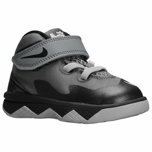 new products 60005 5f57d Toddlers Size 5c Black Grey Nike Lebron Zoom Soldier VIII Shoes 653647-008  for sale online   eBay