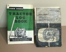 Zz John Deere Traction Trol Hitch 801 Manual Om A12755a Amp Tractor Log Book 872