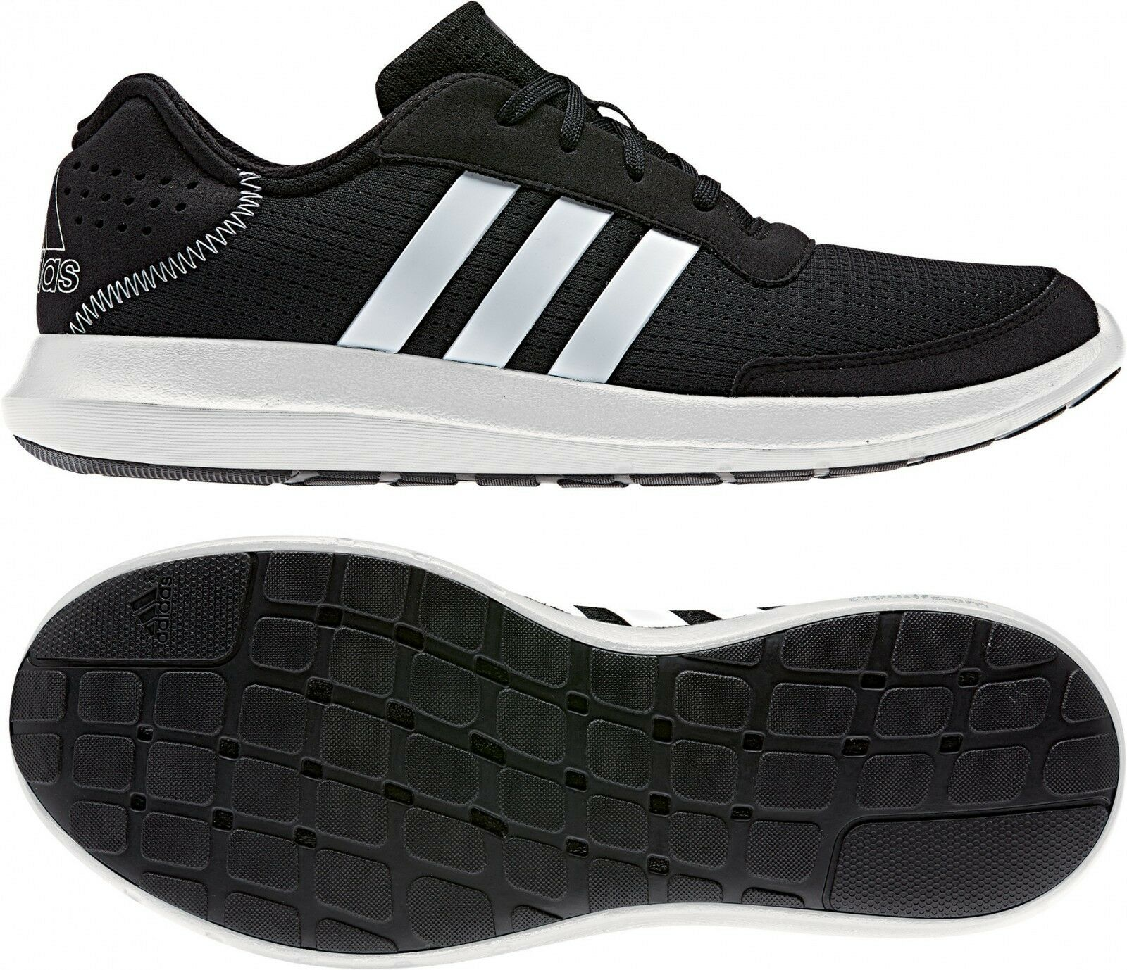 adidas Performance Herren Turnschuh element refresh m schwarz/weiß (BA7911)