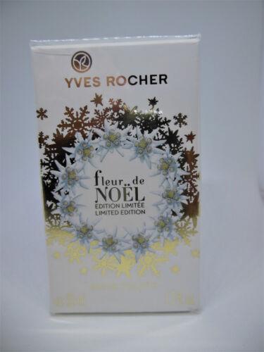 Yves Rocher Fleur de NOEL 50 ml édition limitée Eau deToilette OVP mit Folie  Mo8vp AEyQ8