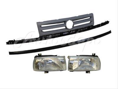 402-44210 53114AE020 TO1210103 CarPartsDepot Front Bumper Grille Chrome Molding Upper Radiator Grill Surround Trim Molding Van 5-Dr