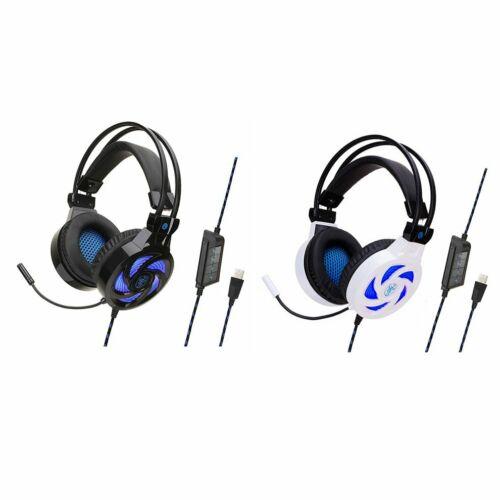 SY855MV 7.1 Canali Stereo Cuffie Gaming USB rimovibile controllo Cuffie Auricolari