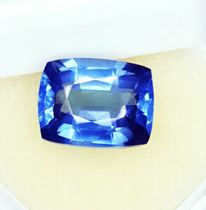 Loose Gemstone 9.97 Ct Natural Blue Sapphire Ring Size Transparent GGL Certified