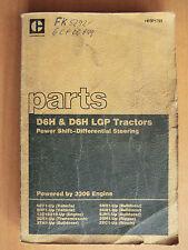 Ersatzteilliste parts list Caterpillar D6H + LGP Tractors Bulldozer 3006 Engine