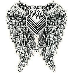 Metal-Mulisha-HALO-6-034-STICKER-1-LARGE-DECAL-Angel-Wings-MAIDEN-AUTO-FMX-RACE