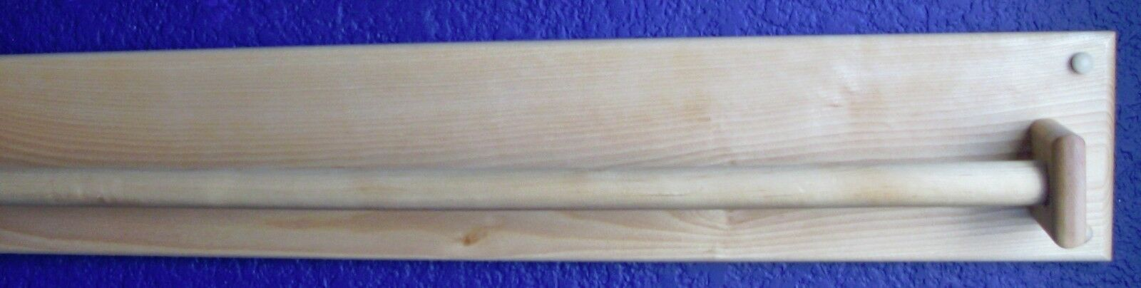 Towel Bar 36  Solid Birch Birch Birch Wood Scandinavian Style b90793