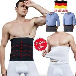 M?nner Waist Trainer Bauchwegg¨¹rtel Slim Body Shaper Herren Bauch Taillenformer