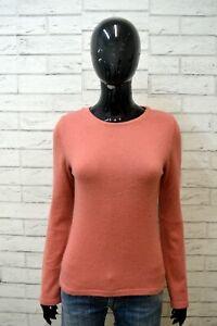 TIMBERLAND-Maglione-Taglia-S-Cashmere-Cardigan-Donna-Pullover-Sweater-Woman-Rosa