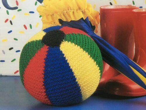 0026 Ball Football Cuddly Soft Toy Knitting Pattern