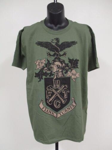 New Frank Turner Mens Adult Sizes XL-2XL Band Concert Shirt
