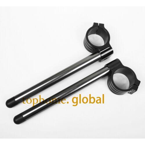 For 50mm Fork Clip-ons Handle Bar Riser Regular Higher Raised R1 1998-2011 2000