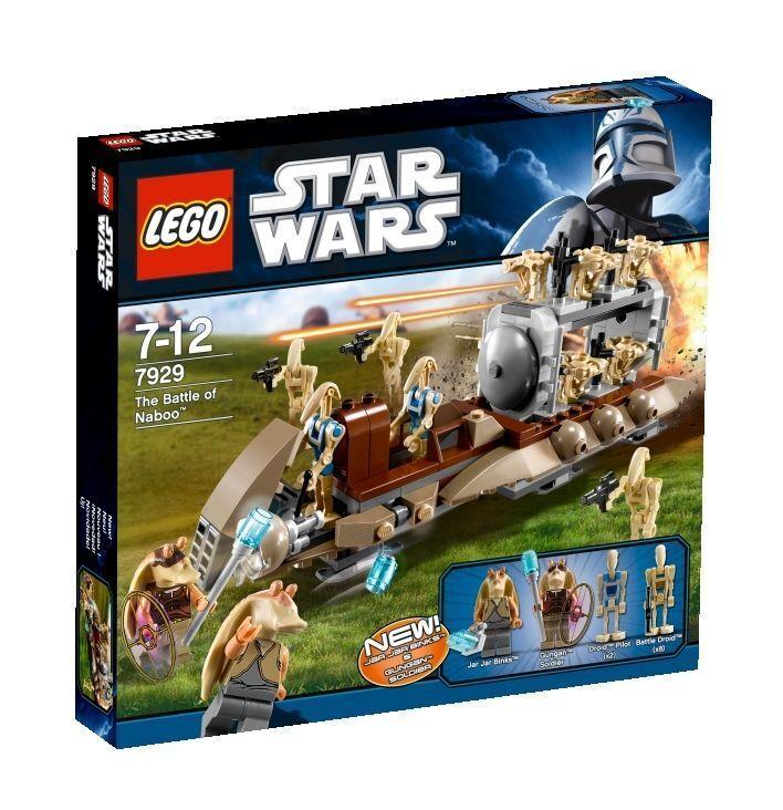LEGO estrella guerras The battle of naboo (7929) NUOVO   vieni a scegliere il tuo stile sportivo
