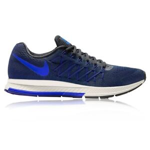NEW Nike Air Zoom Pegasus 32 Blue Black Size 7.5 Mens Running Shoes ... 47e32a075