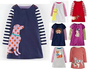 Girls Applique Dress