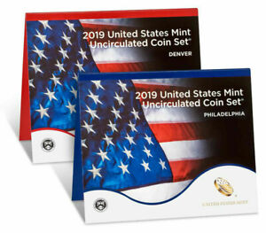 2019-P-D-US-MINT-UNCIRCULATED-20-COIN-SET-NO-W-LINCOLN-PENNY-SEALED-BOX-19RJ