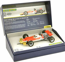 Scalextric Legends Team Lotus 49 Graham Hill GP Gold Leaf Slot Car 1/32 C3701A