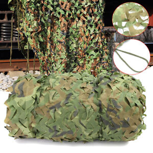 8X8m-Woodland-Camouflage-Netting-Military-Army-Camo-Hunting-Hide-Camp-Cover-Net