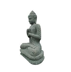 Aus-59 Buddha Figur Tempelwächter Buddha stein Budha Steinfigur ...