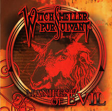 WITCHSMELLER PURSUIVANT – Manifest Of Evil (Domestic Violence,Hooded Priest)