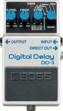 Boss (DD-3) Digital Delay Guitar Effect Pedal
