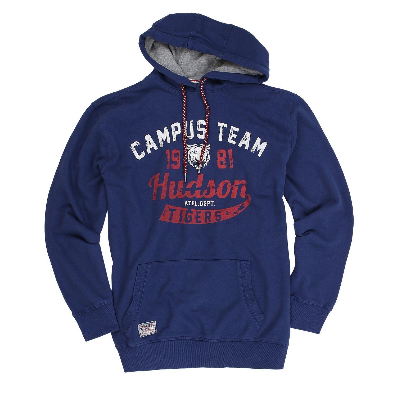 Herren Sweatshirt Kapuzenpullover Hoodie Shirts Aufdruck Übergrößen 3XL - 8XL