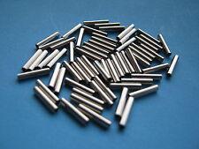 100 x crimpare Maniche 2,2 mm diametro interno, fili trace piattaforme per luccio, pesca in mare