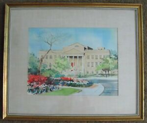 LISTED-ARTIST-HOWARD-NOEL-WATSON-SIGNED-ORIGINAL-WATERCOLOR-PAINTING