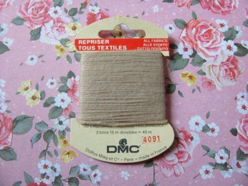 4091 DMC FIL à repriser Tous textiles Beige